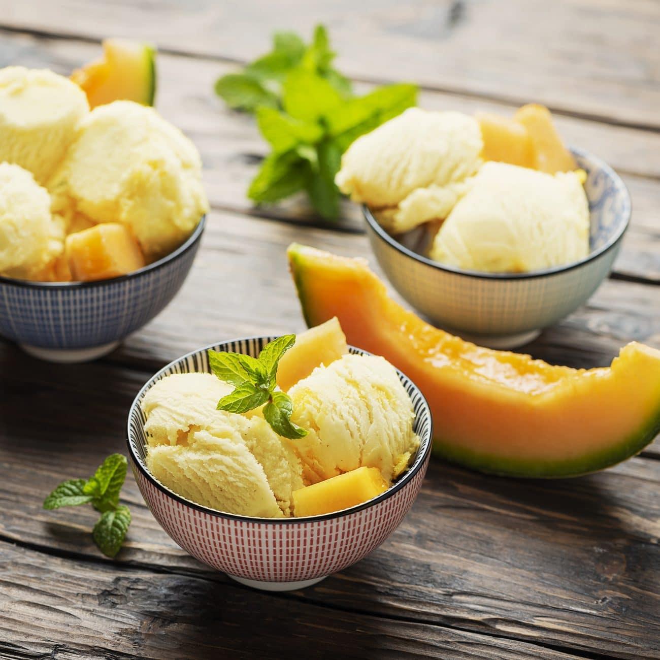 Gelato vegan al melone Solarelli – senza gelatiera!