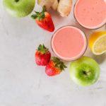 Centrifugato primaverile di fragole