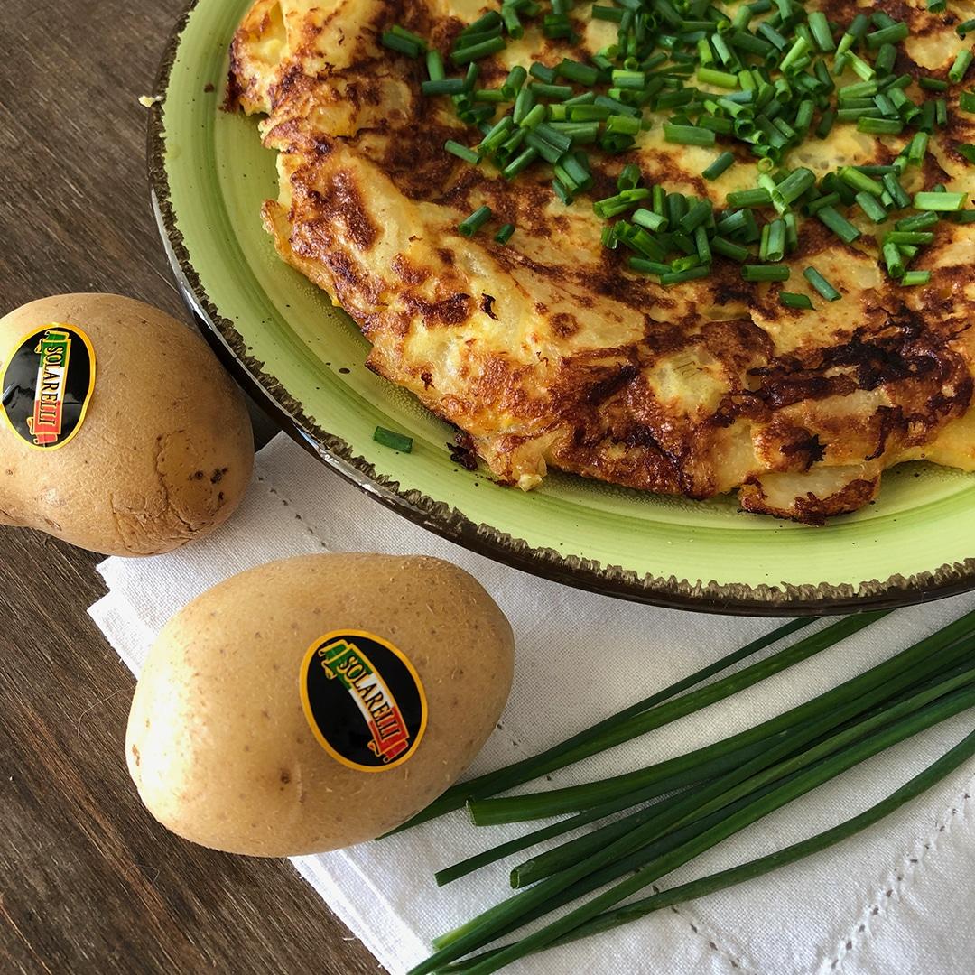 Tortilla di patate e scalogno Solarelli