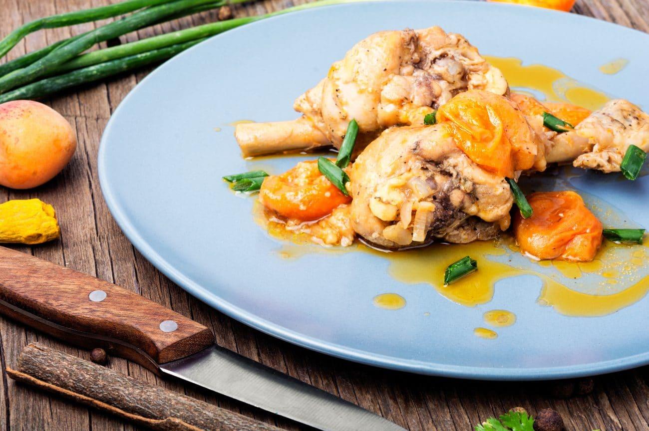 Pollo in salsa di albicocche Solarelli