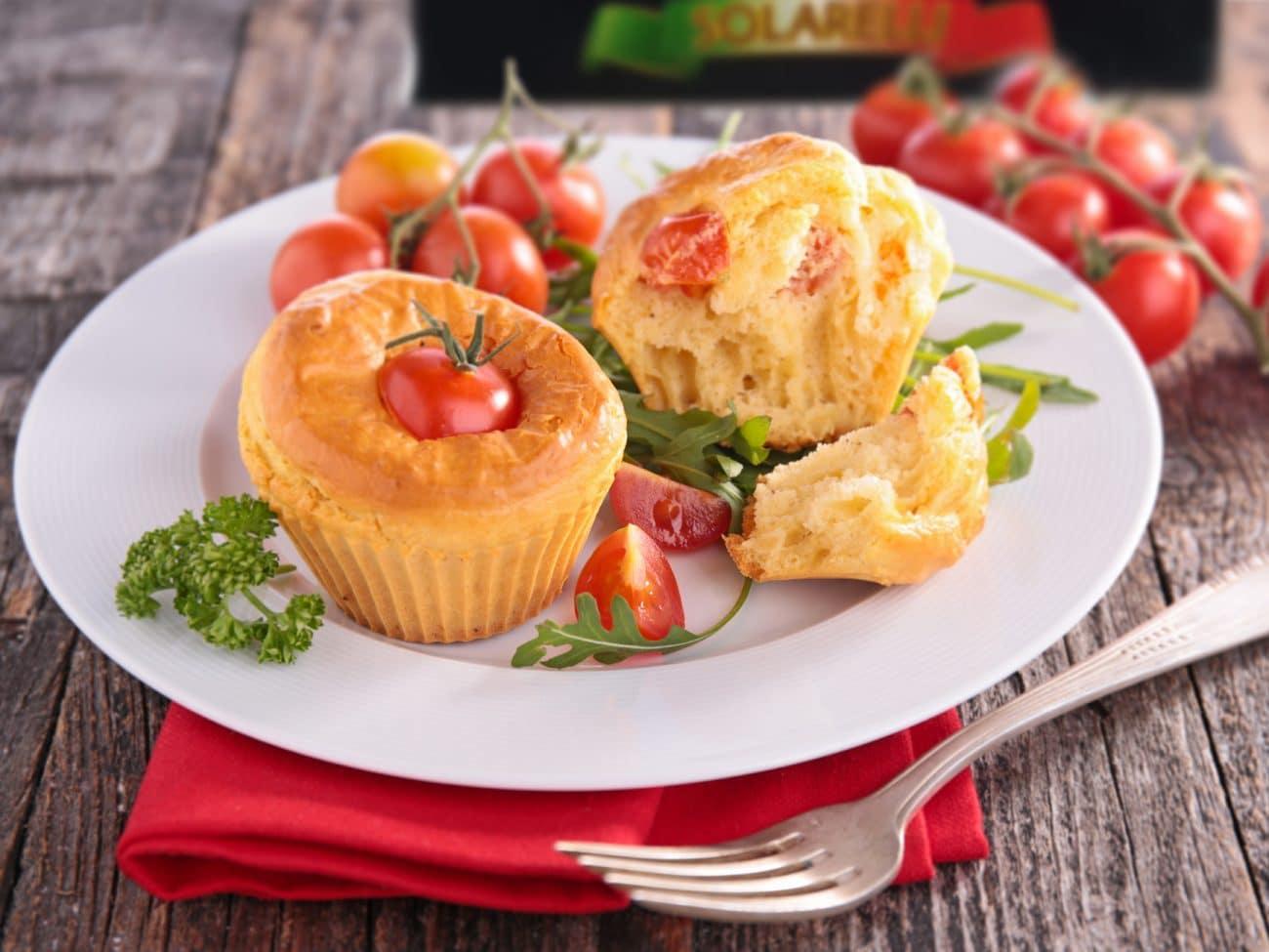 Muffin salati ai pomodori Cherry Solarelli